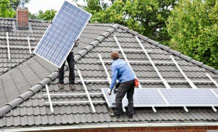 Ostrovní fotovoltaický set